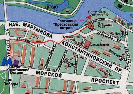 hotel krestovskij